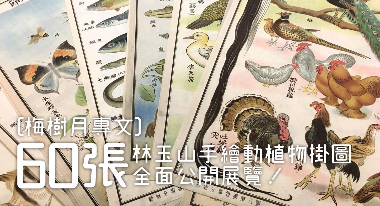[梅樹月專文] 60 張林玉山手繪動植物掛圖全面公開展覽